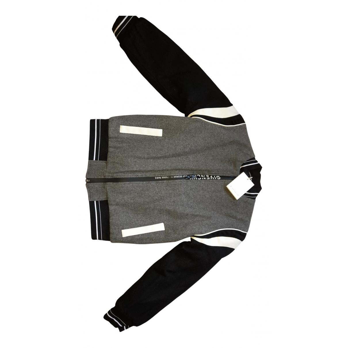 Givenchy \N Jacke, Maentel in  Grau Wolle