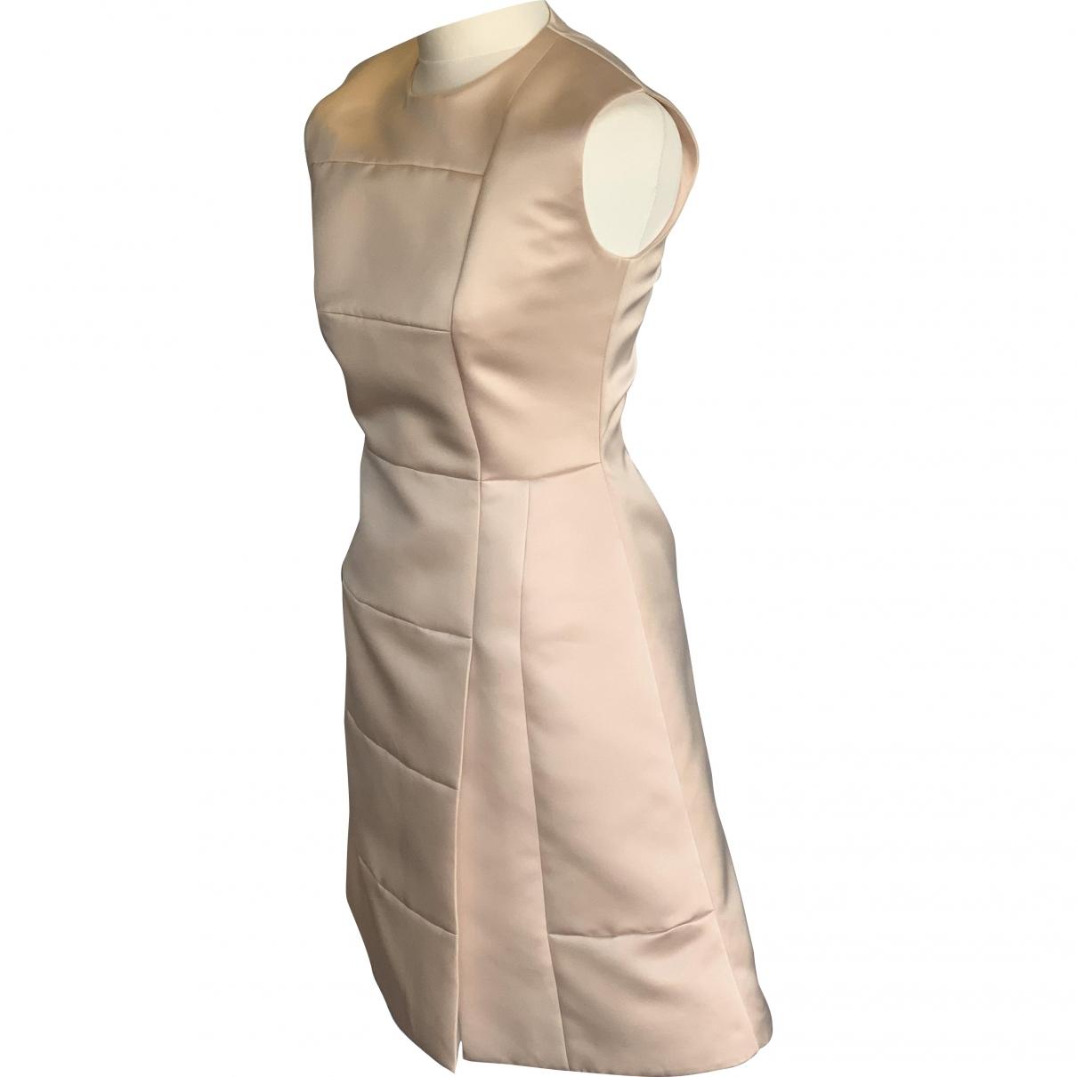 Roksanda Ilincic \N Kleid in  Rosa Seide
