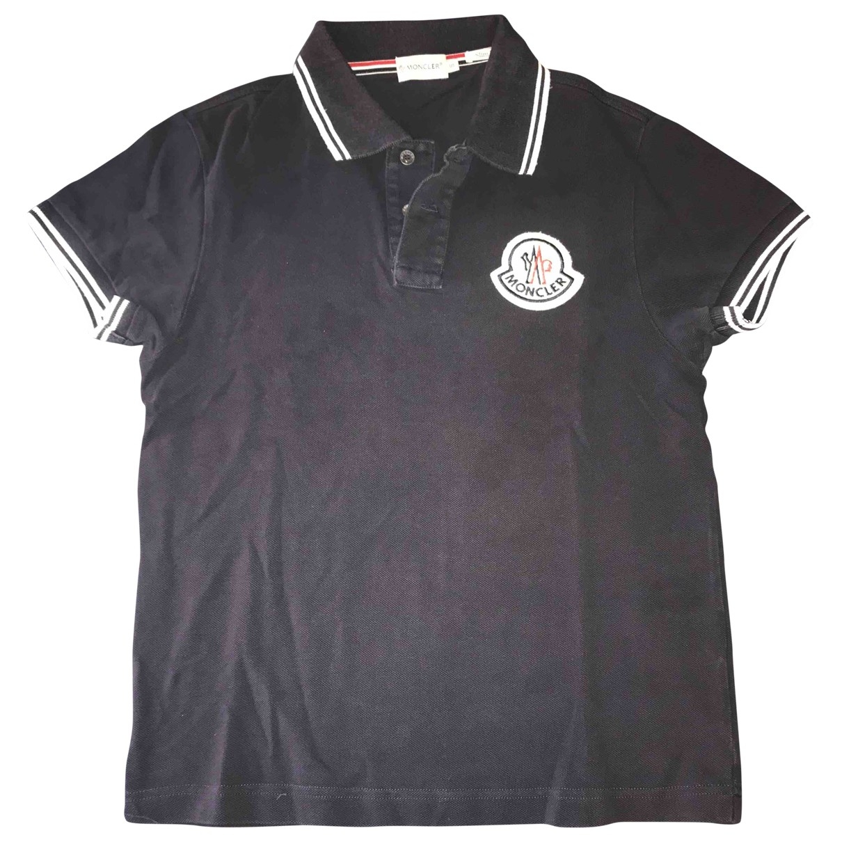 Moncler \N Blue Cotton Polo shirts for Men S International