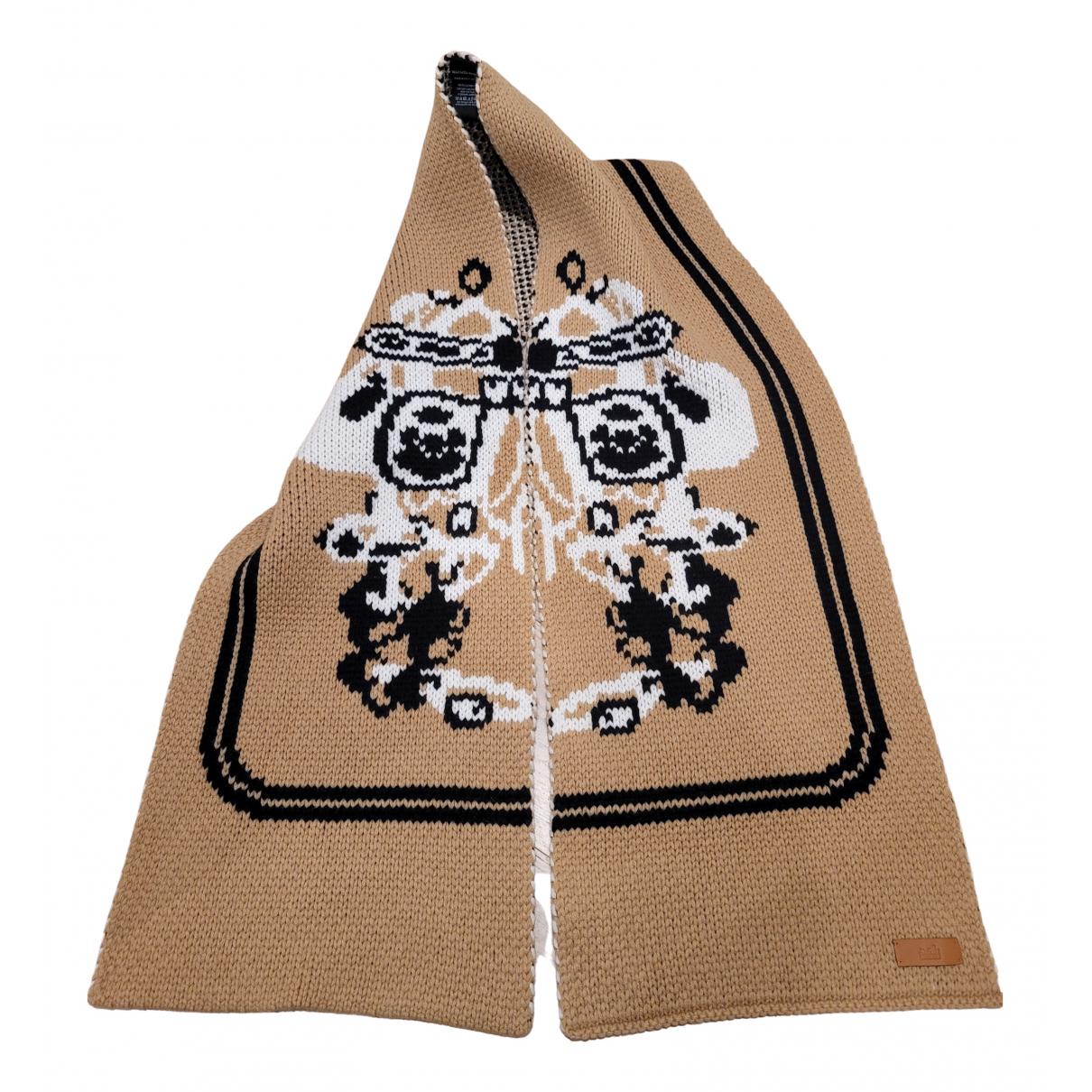 Hermès N Brown Cashmere scarf for Women N