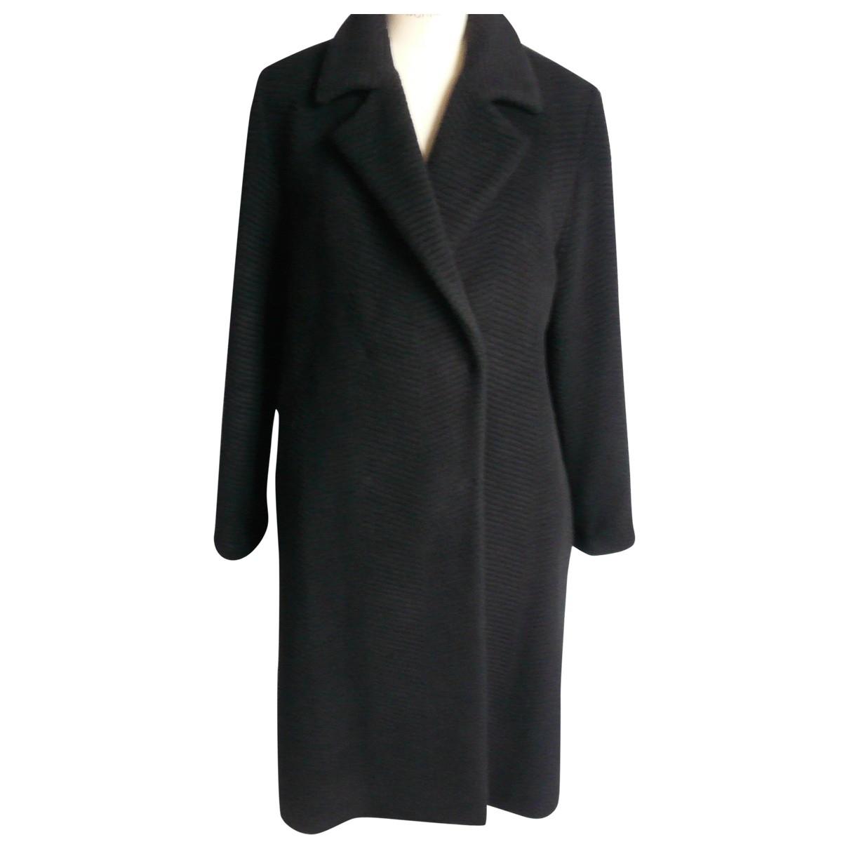 Cerruti - Manteau   pour femme en laine - noir