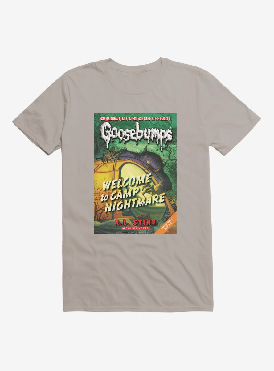 Goosebumps Welcome To Camp Nightmare T-Shirt