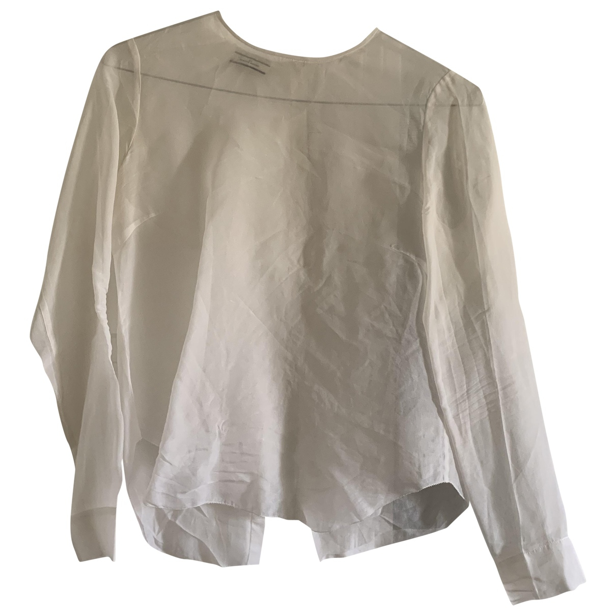 By Malene Birger \N White Cotton  top for Women 40 IT