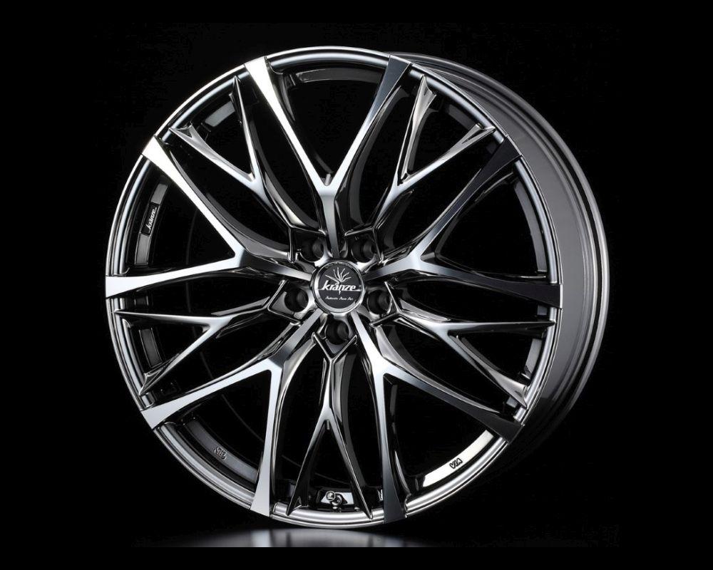 Weds Kranze Weaval 100 EVO Wheel 20x8.5 5x114.3 48mm SBC Polish