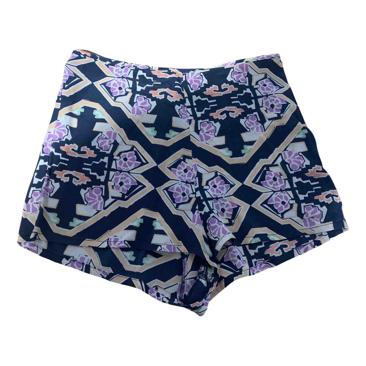 Shona Joy \N Shorts in  Bunt Seide