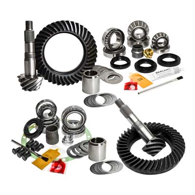 16-Newer Toyota Tacoma Automatic without E-Locker 4.56 Ratio Gear Package Kit Nitro Gear and Axle