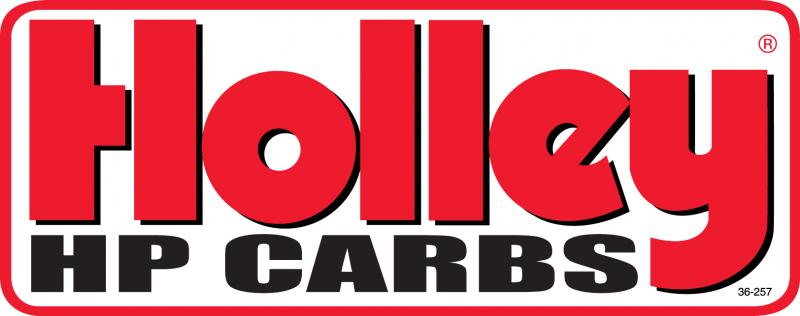 Holley 36-257 DECAL HP CARBS - 26 SQ. IN.