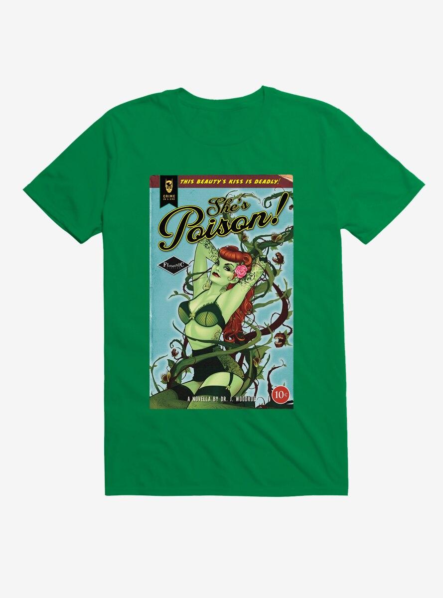DC Comics Poison Ivy She's Poison T-Shirt