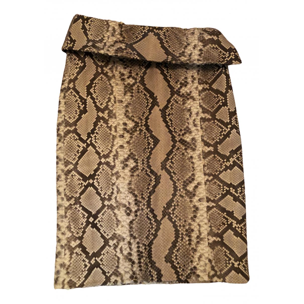 Trussardi - Jupe   pour femme en python