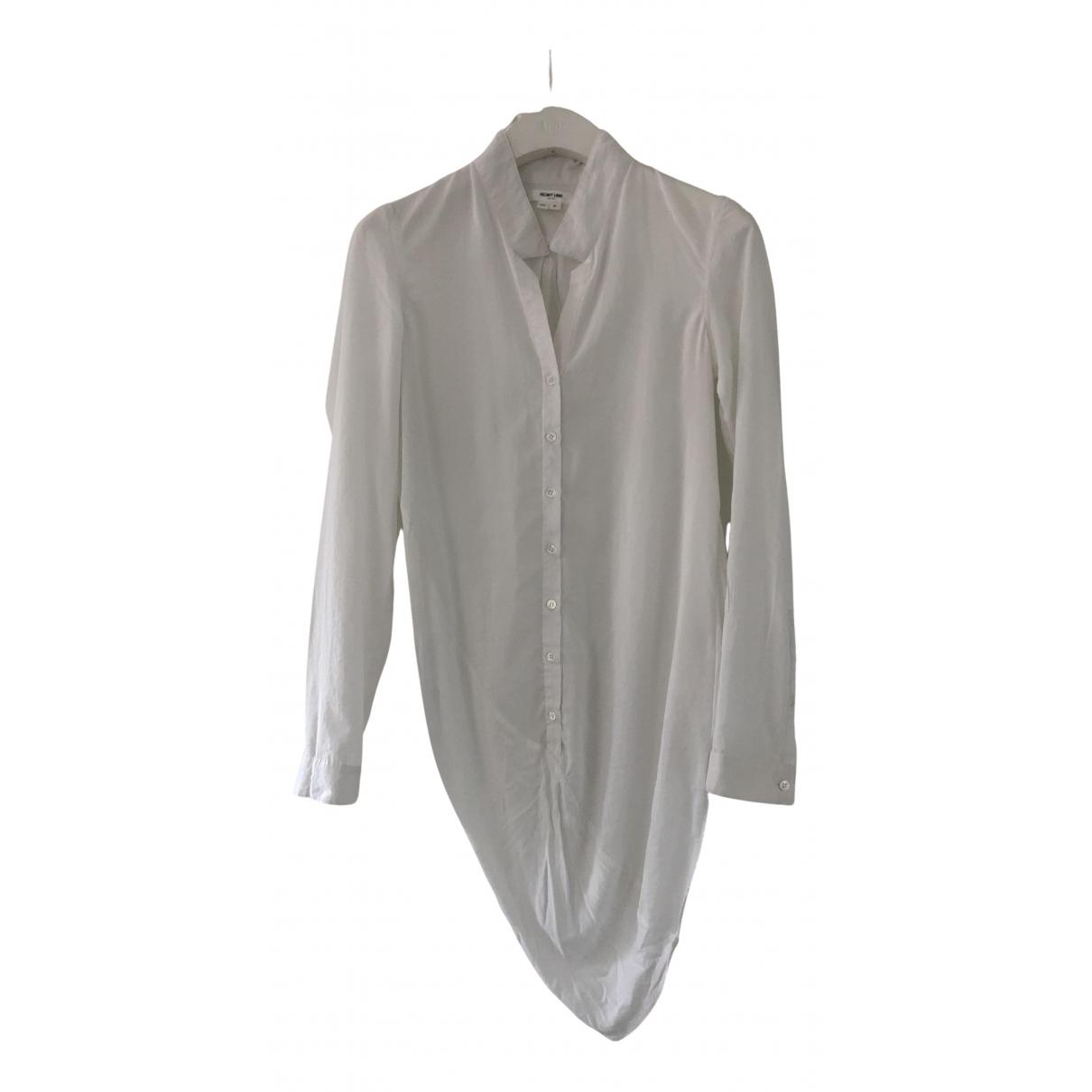 Helmut Lang - Top   pour femme en coton - blanc