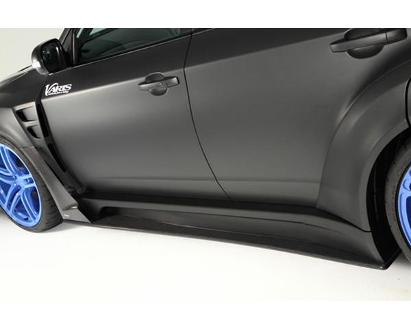 Varis VASU-119 Carbon Wide Side Skirt with Side Air Panel and Big Underboard Subaru STi GRB 08-16
