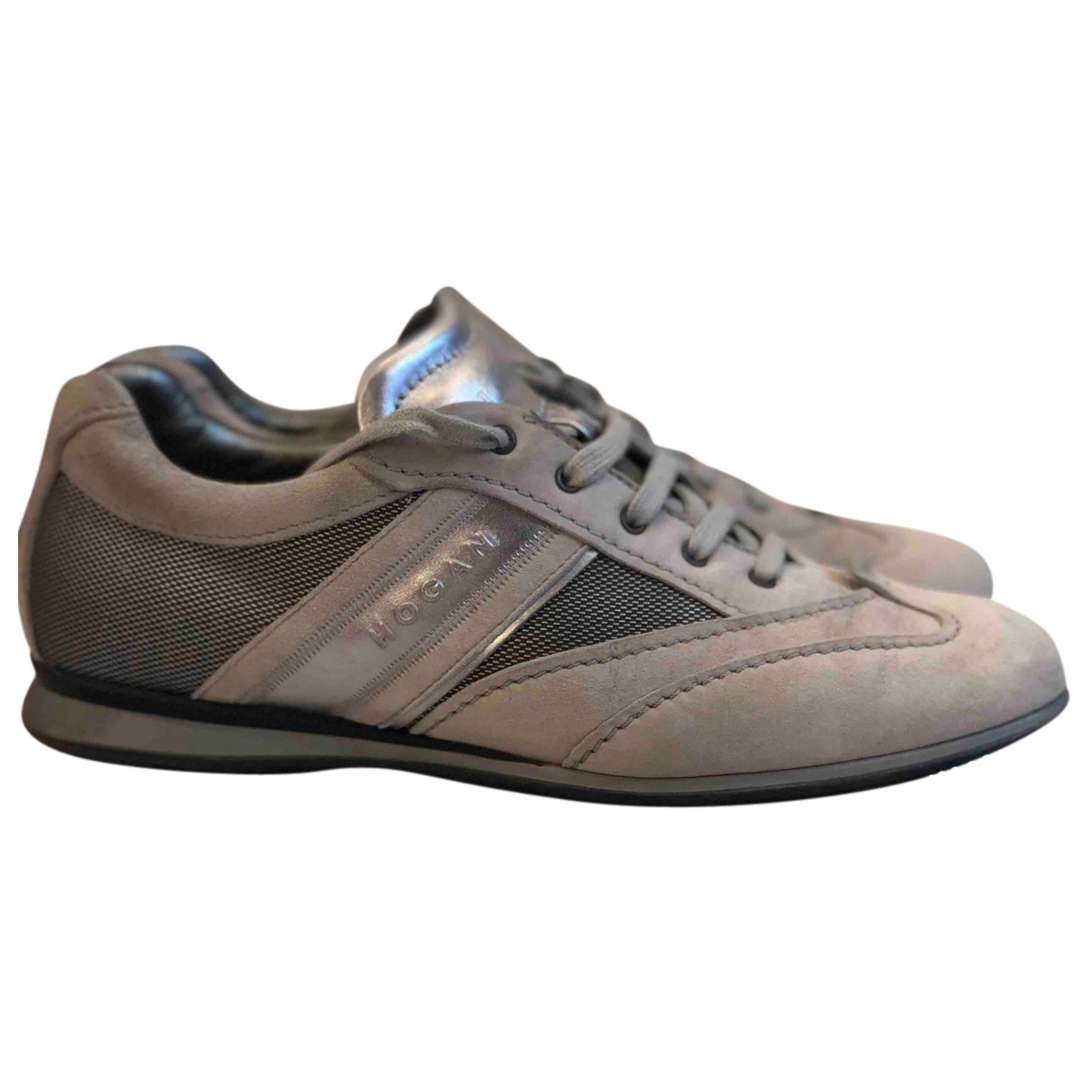 Hogan N Suede Trainers for Women 39 IT