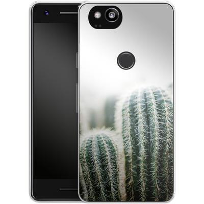 Google Pixel 2 Silikon Handyhuelle - Cactus 1 von Mareike Bohmer