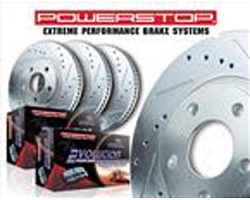 Power Stop K5587-36 Extreme Truck & Tow Brake Kit Front & Rear K5587-36