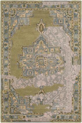 Hannon Hill HNO-1002 8' x 10' Rectangle Traditional Rug in