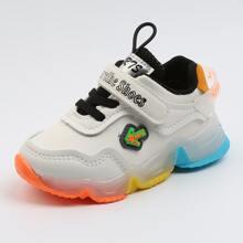 Kleinkind Jungen Sneakers mit Buchstaben Grafik