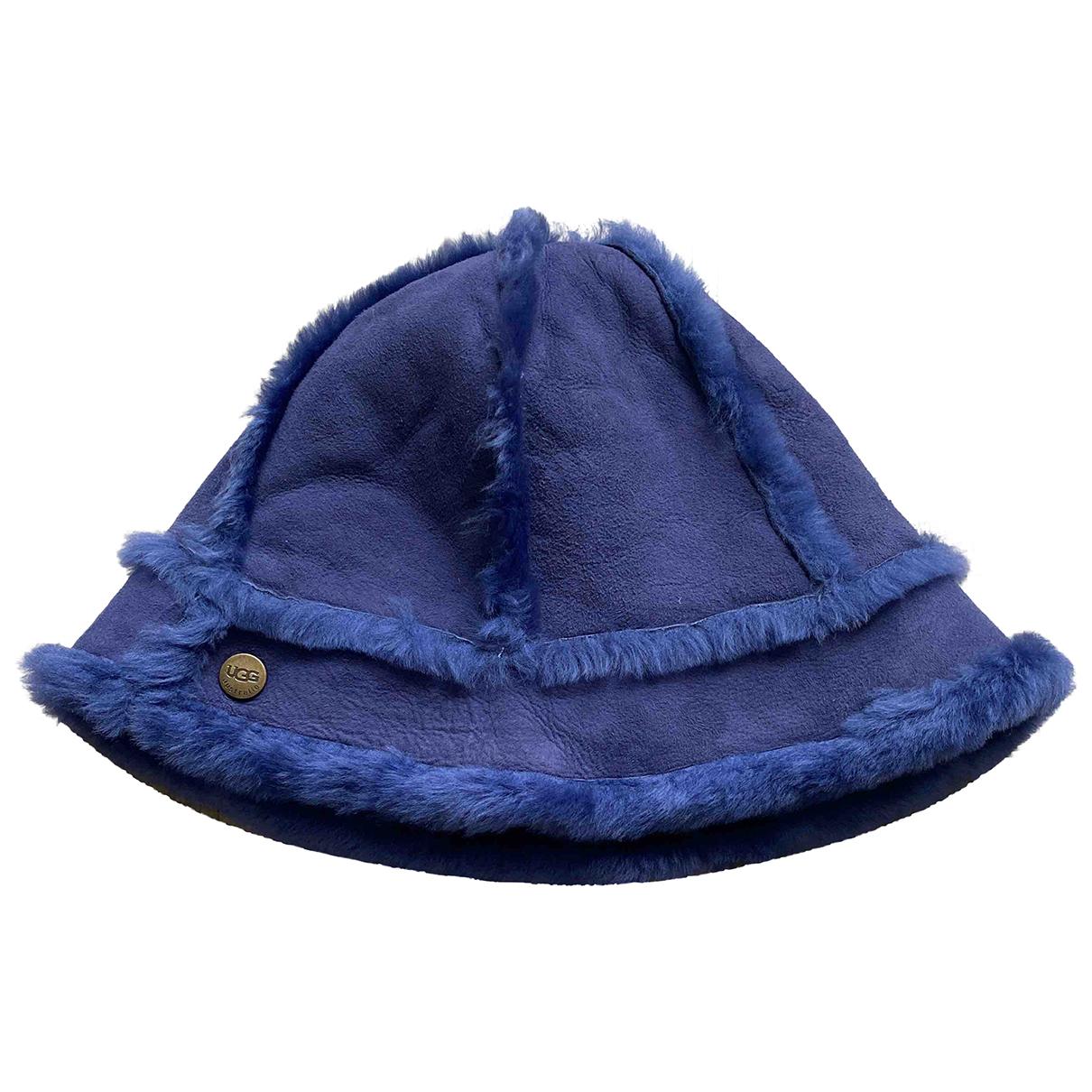 Ugg - Chapeau   pour femme en mouton - violet