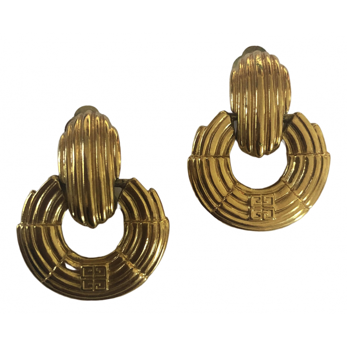 Givenchy \N Gold Metal Earrings for Women \N