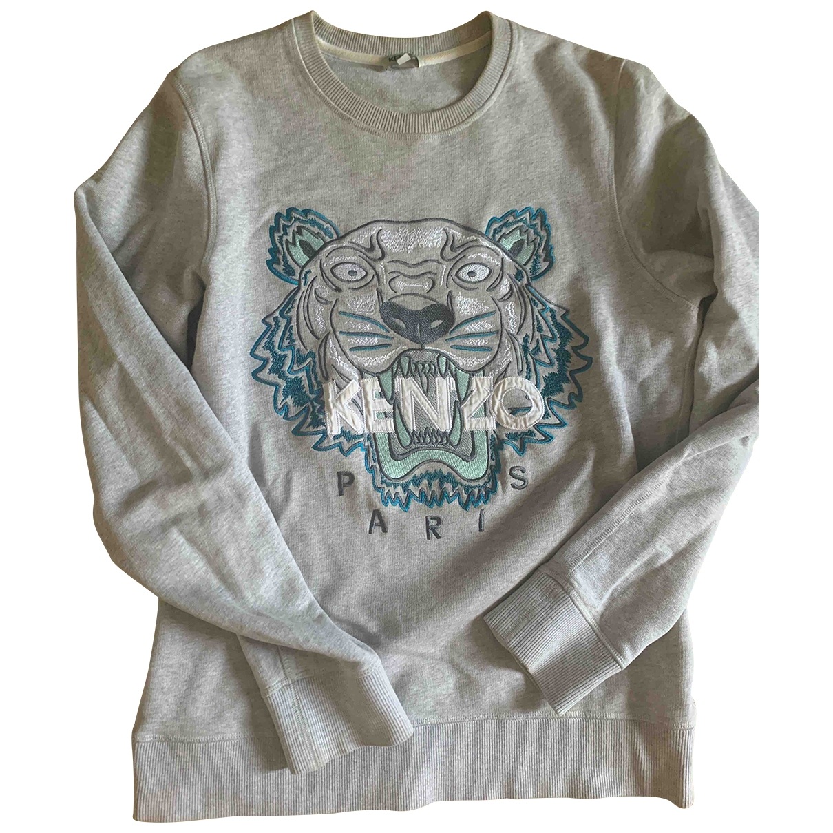 Kenzo \N Grey Cotton Knitwear for Women 36 FR