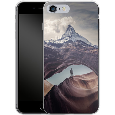 Apple iPhone 6s Plus Silikon Handyhuelle - The Great Outdoors von Enkel Dika