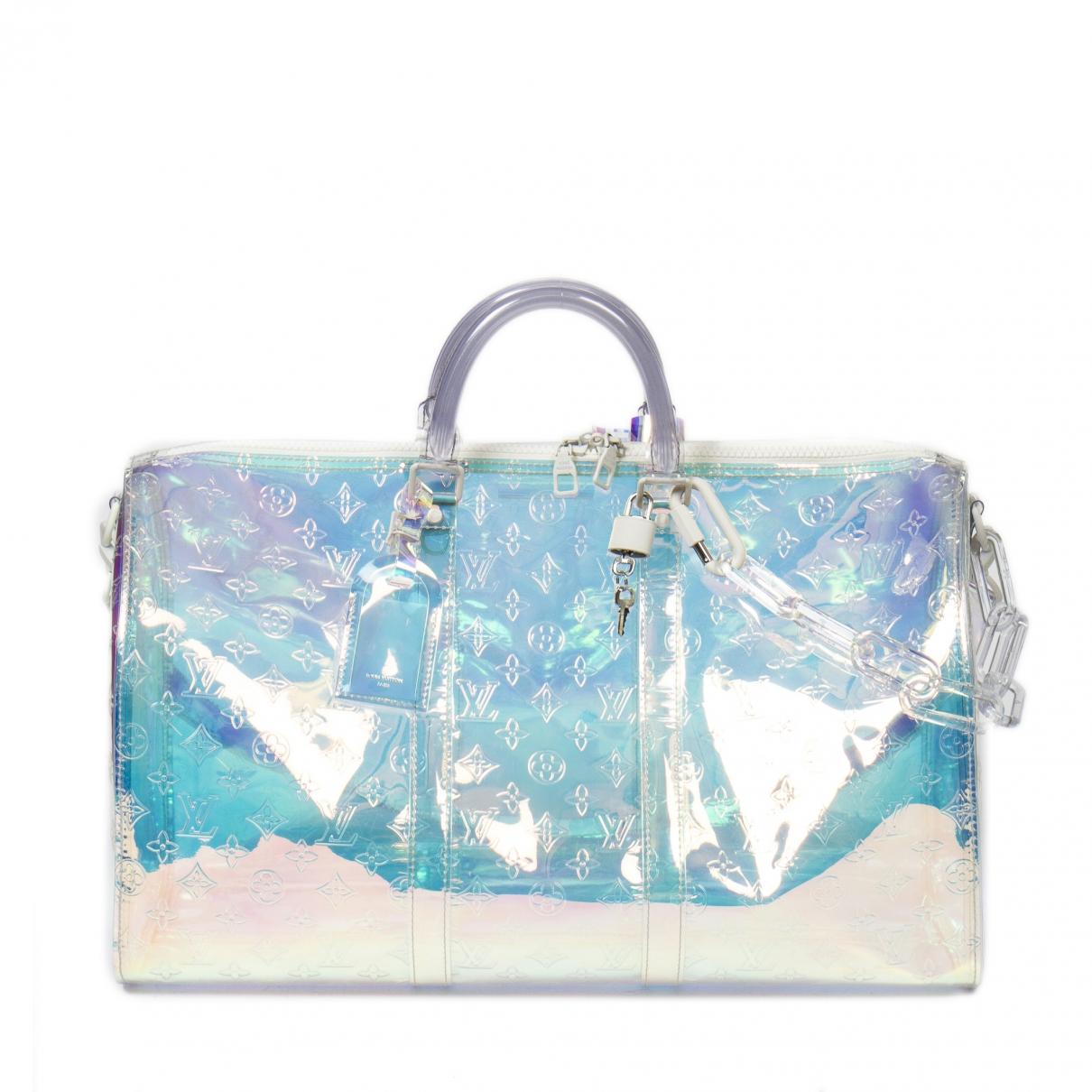 Louis Vuitton Keepall Reisetasche in Leinen