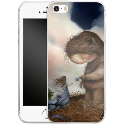 Apple iPhone SE Silikon Handyhuelle - Kindered Spirits von Dan May
