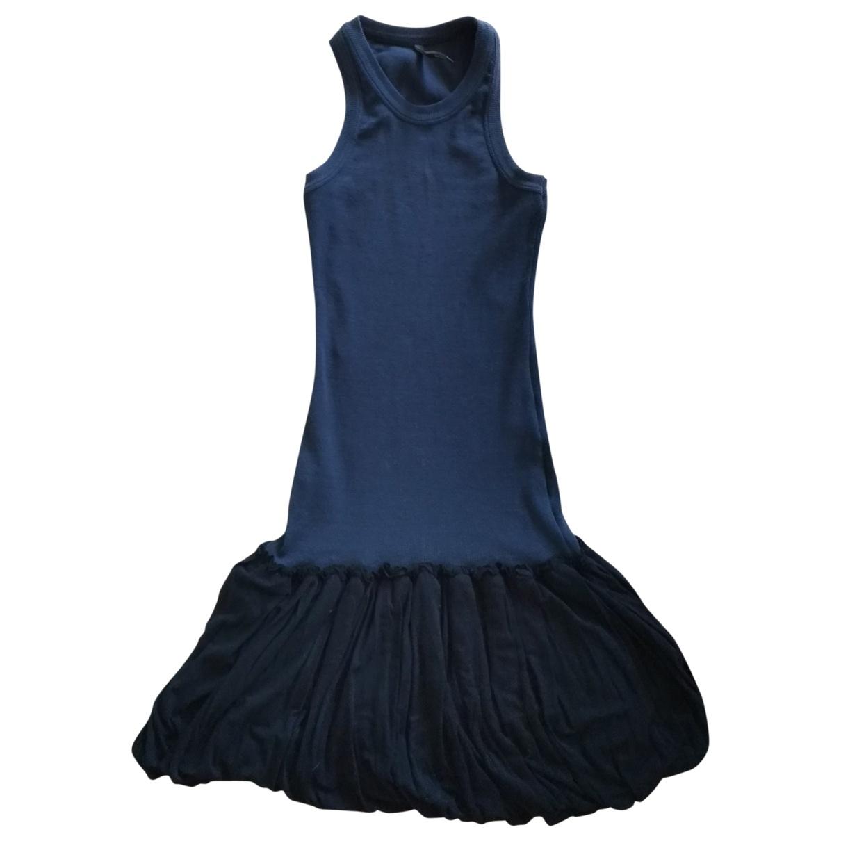 Absolu \N Black Cotton - elasthane dress for Women 42 IT