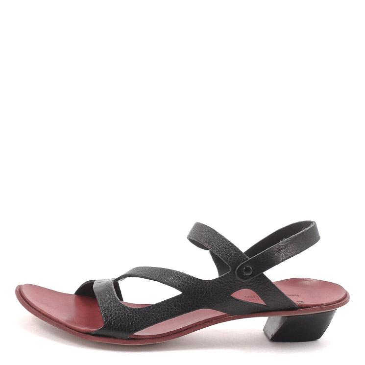 CYDWOQ, Brief Women's Sandals, black-red Größe 36