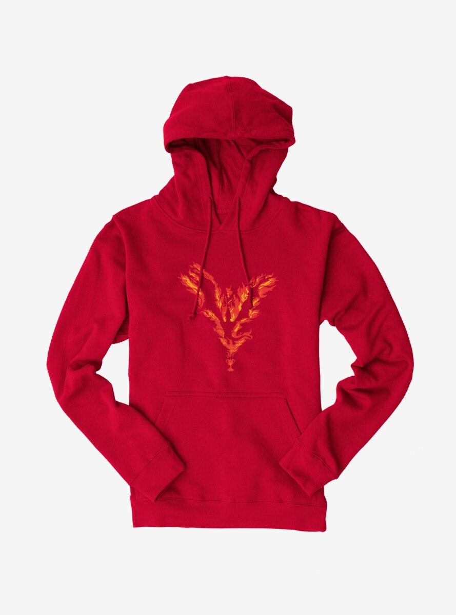Harry Potter Fire Phoenix Hoodie