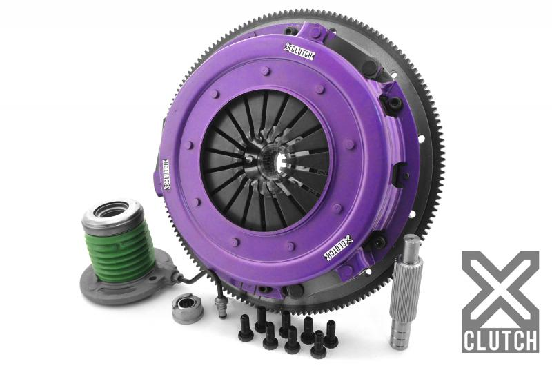 XClutch XKFD27695-2G Clutch Kit with Chromoly Flywheel + HRB 10.5 and Twin Solid Organic Discs Ford 5.8L V8