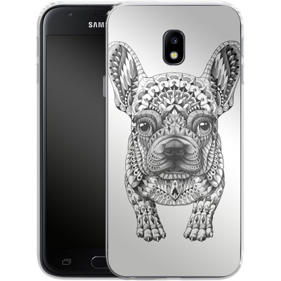 Samsung Galaxy J3 (2017) Silikon Handyhuelle - French Bulldog von BIOWORKZ