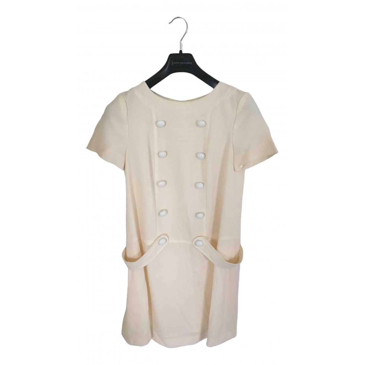 Uterque \N Kleid in  Ecru Polyester