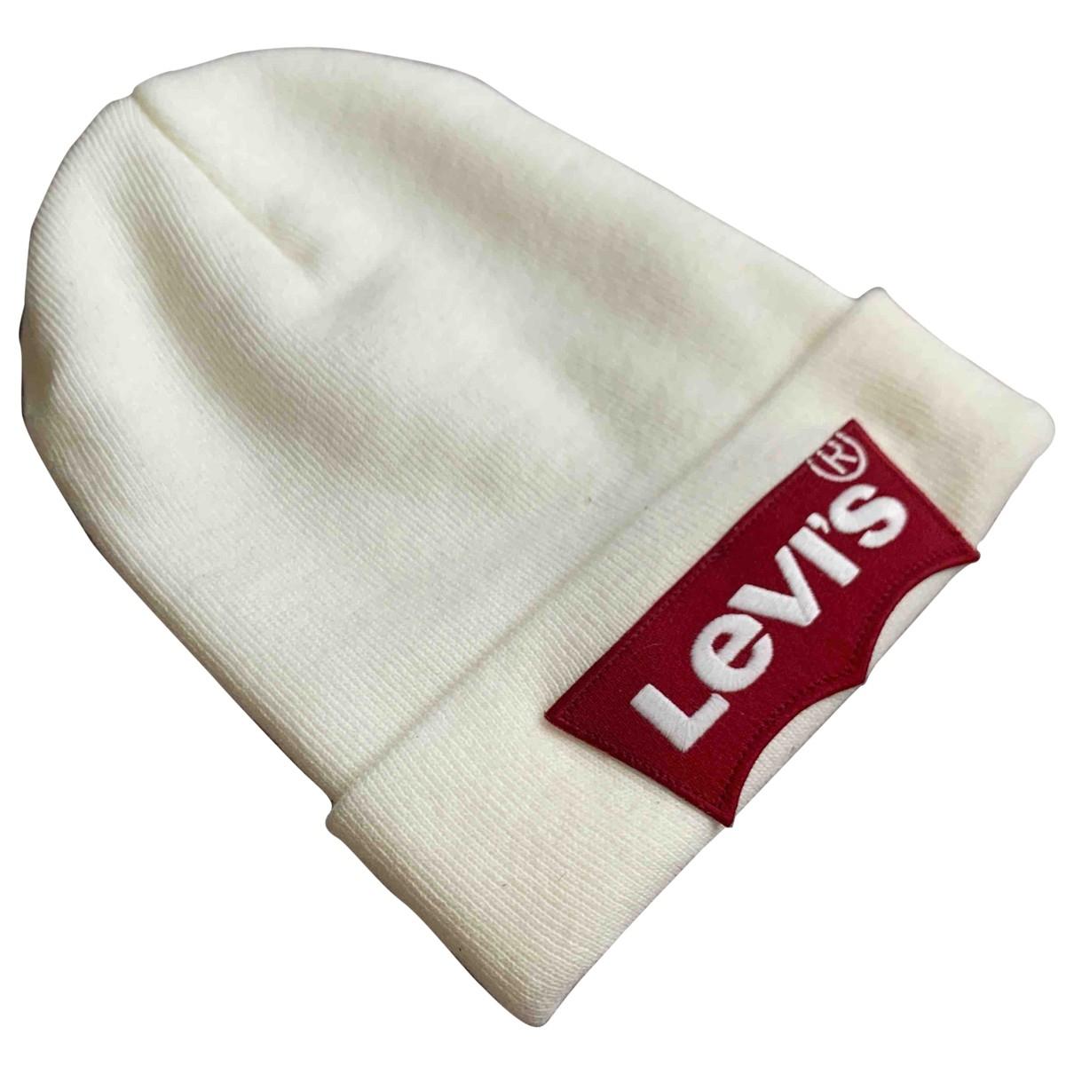 Levis - Chapeau & Bonnets   pour homme - beige