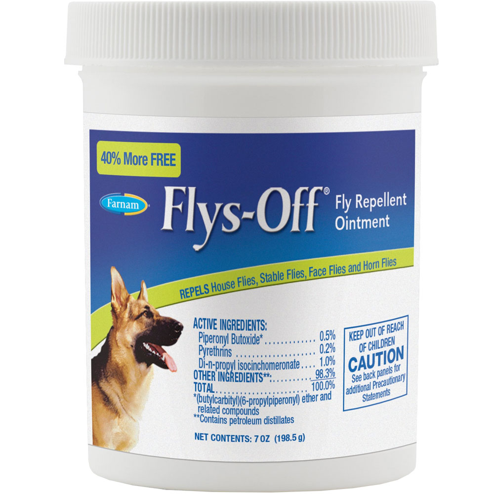 Flys Off Fly Repellent Ointment (7 oz)