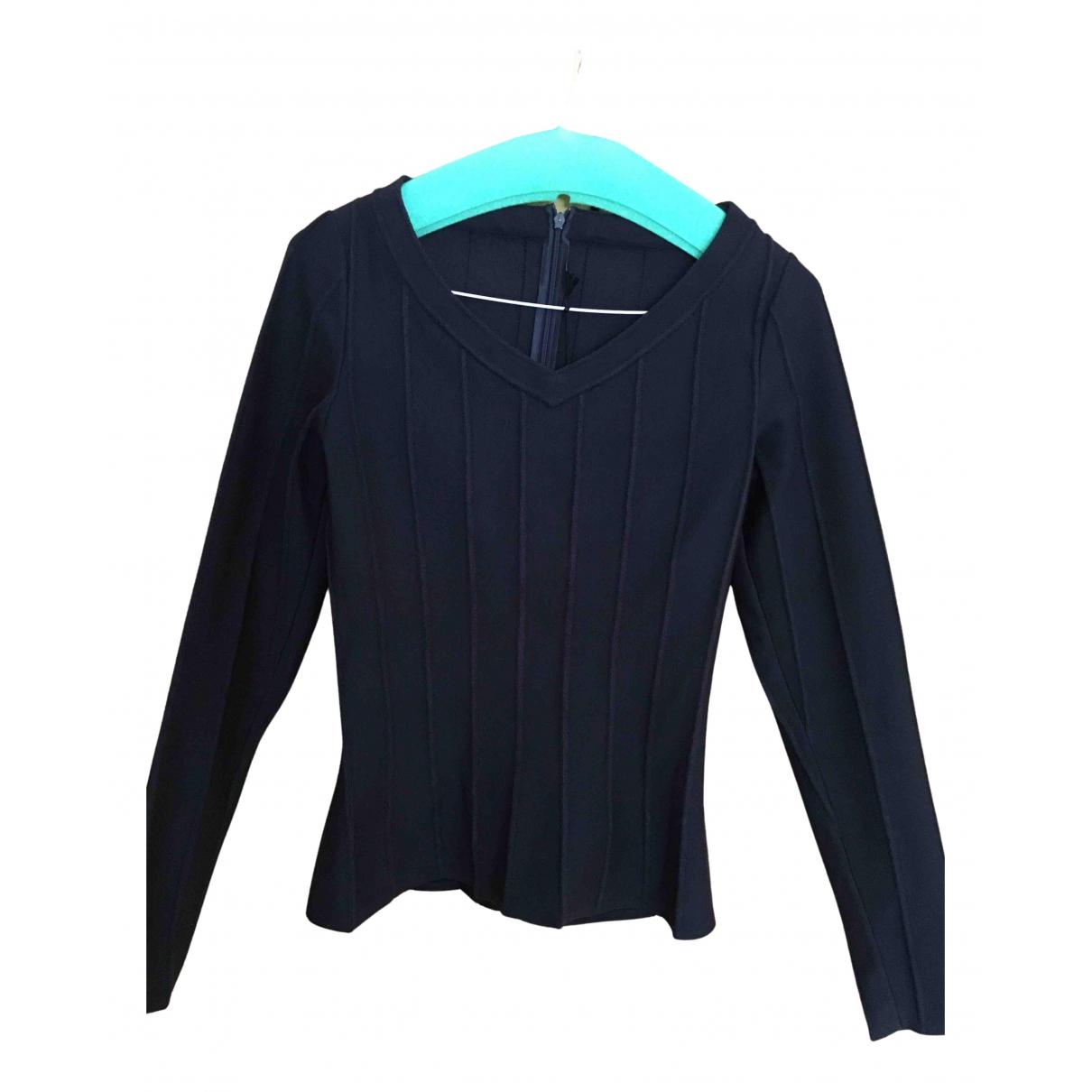Alaia - Pull   pour femme - bleu