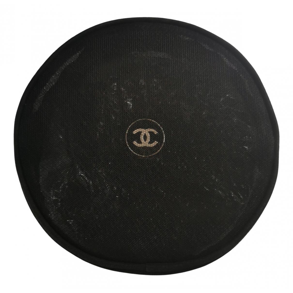 Chanel - Sac de voyage   pour femme en toile - noir