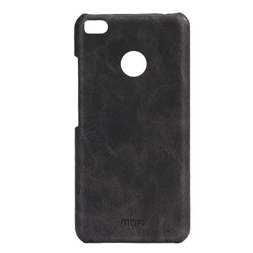 Gray Xiaomi Mi 4S Leather Case MOFI Heart Series Flip Stand Protective Cover Screen Protector