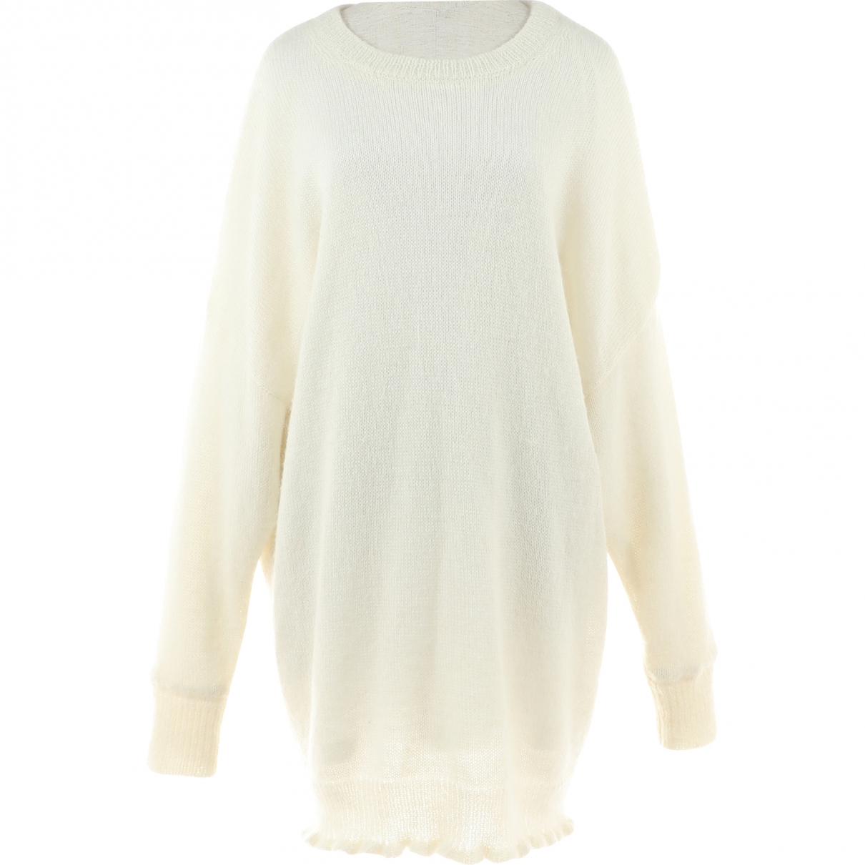 Maison Martin Margiela \N White Wool Knitwear for Women 38 FR