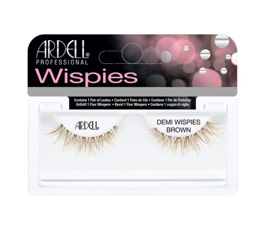 Invisibands Natural Lashes Demi Wispies Brown