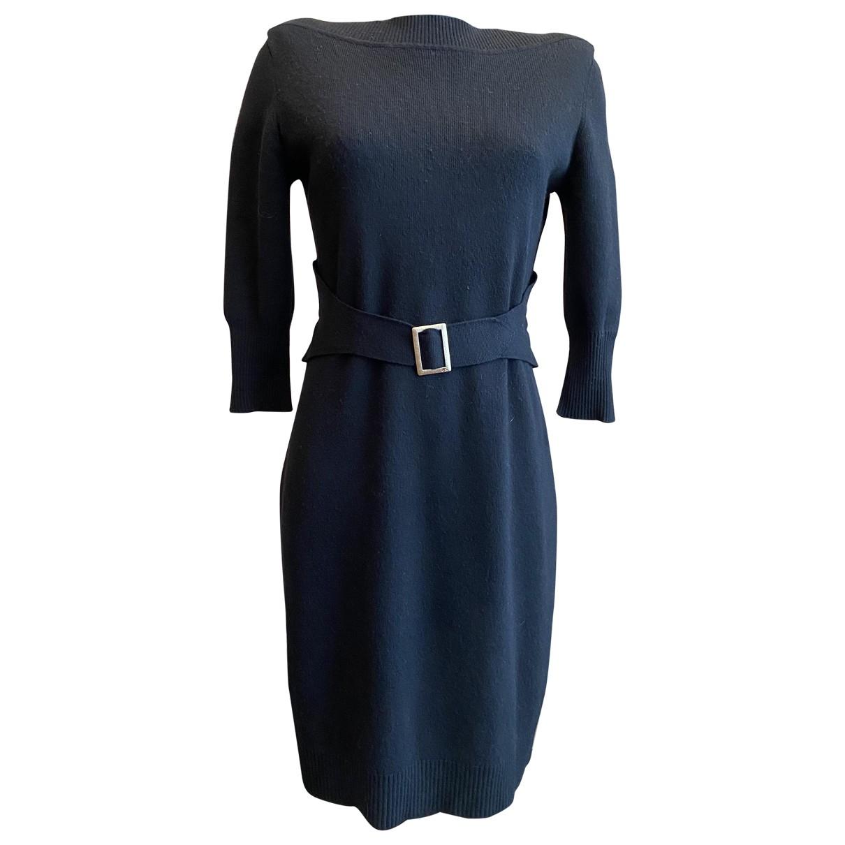 Chanel \N Black Wool dress for Women 38 FR