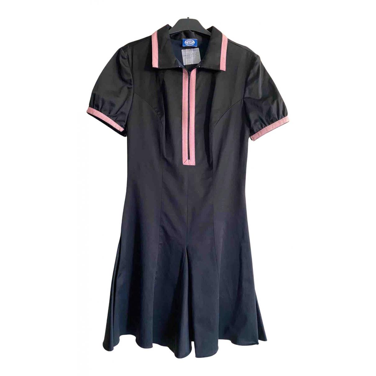 Blumarine N Black Cotton dress for Women 40 IT