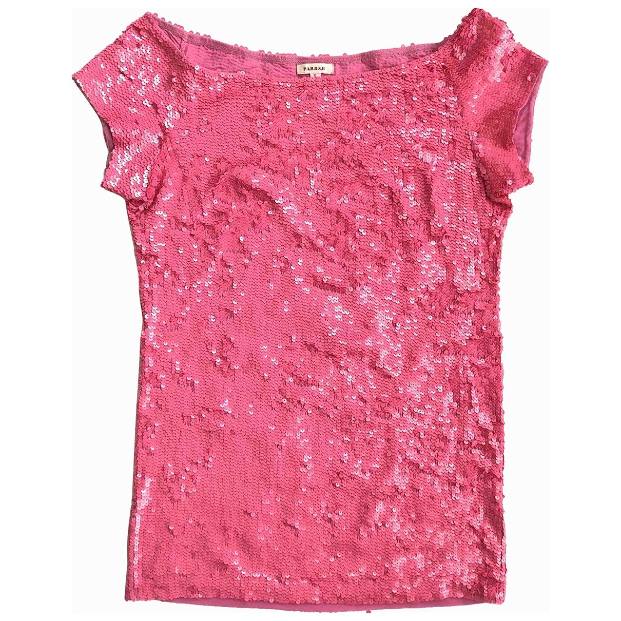 Parosh \N Pink Glitter  top for Women S International