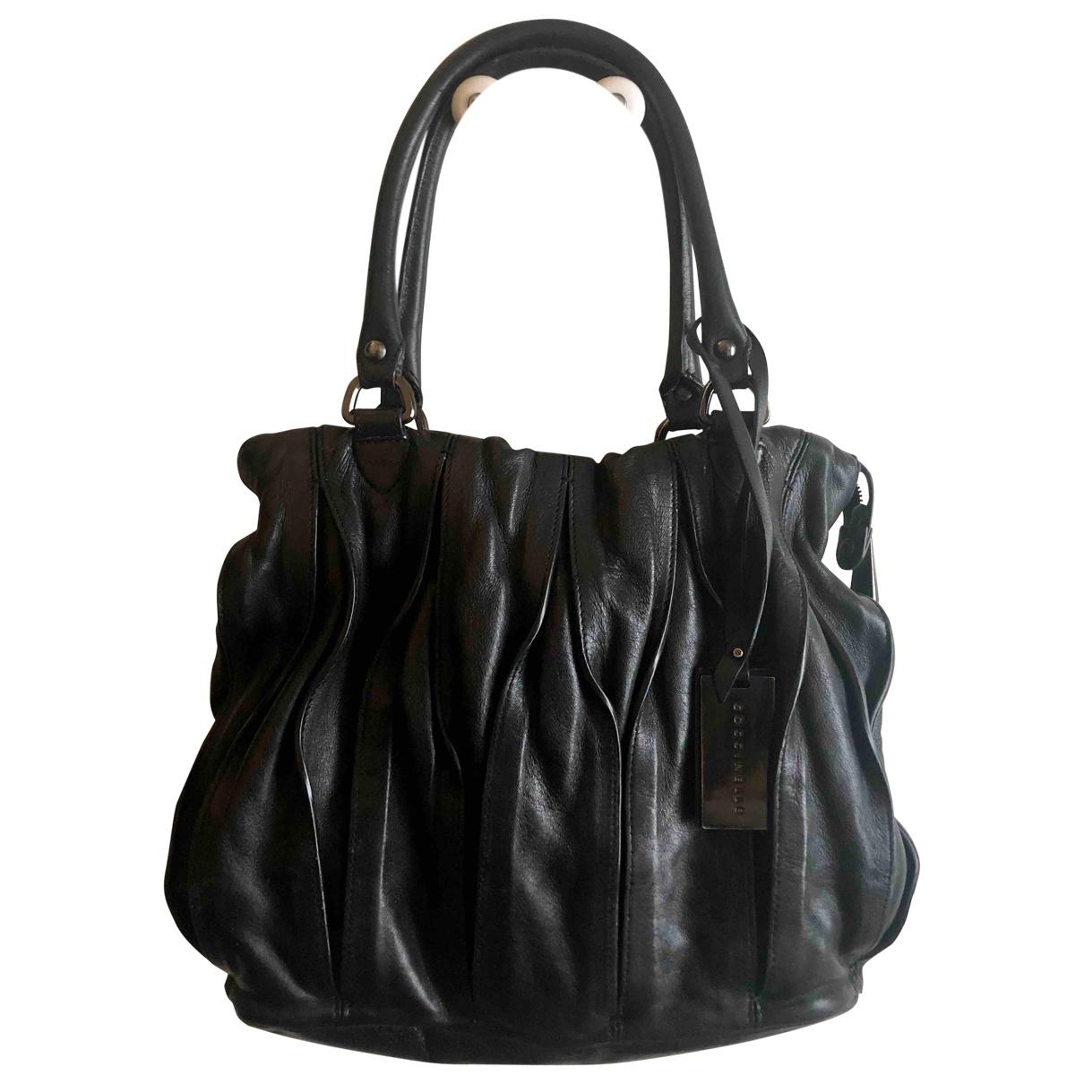 Coccinelle - Sac a main   pour femme en cuir - noir
