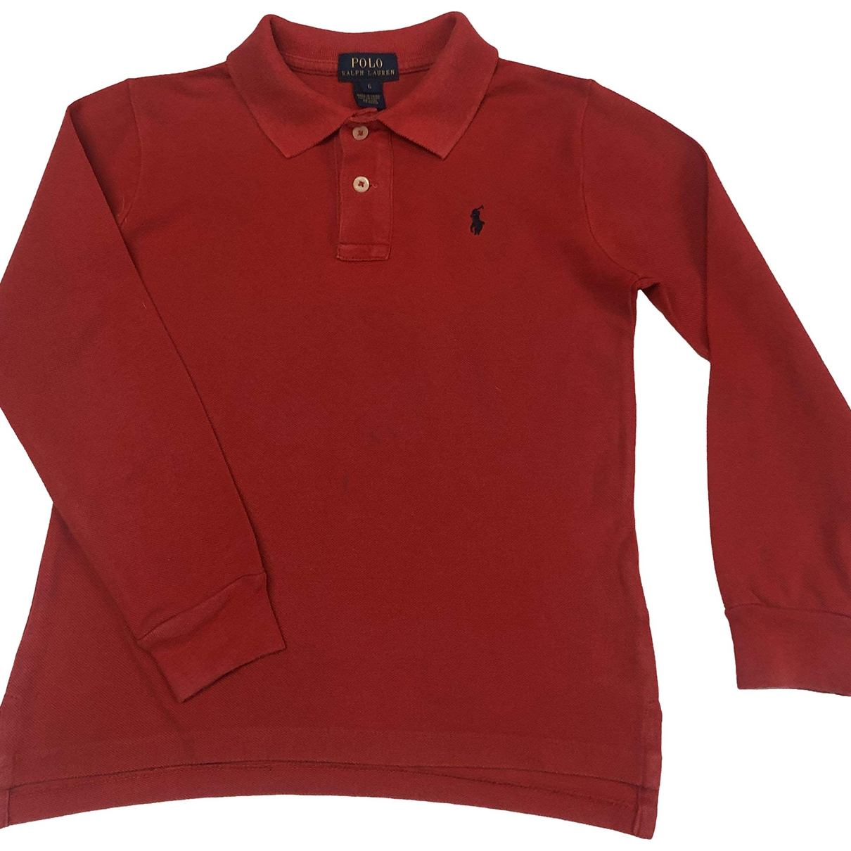 Polo Ralph Lauren \N Red Cotton  top for Kids 6 years - until 45 inches UK