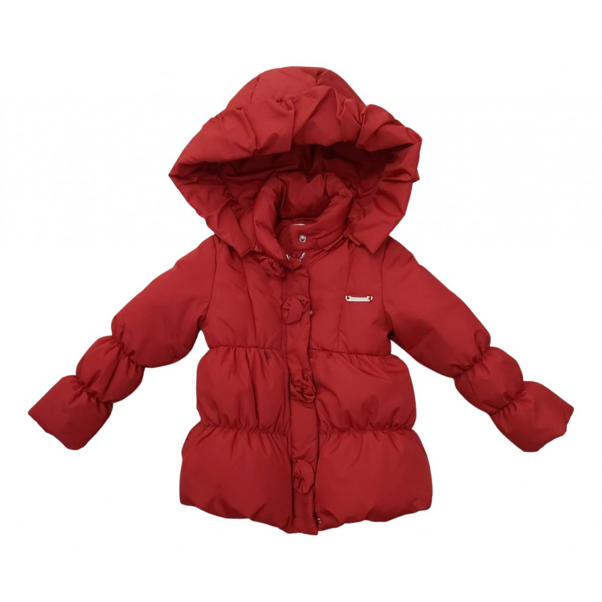 Twin Set - Blousons.Manteaux   pour enfant - rouge