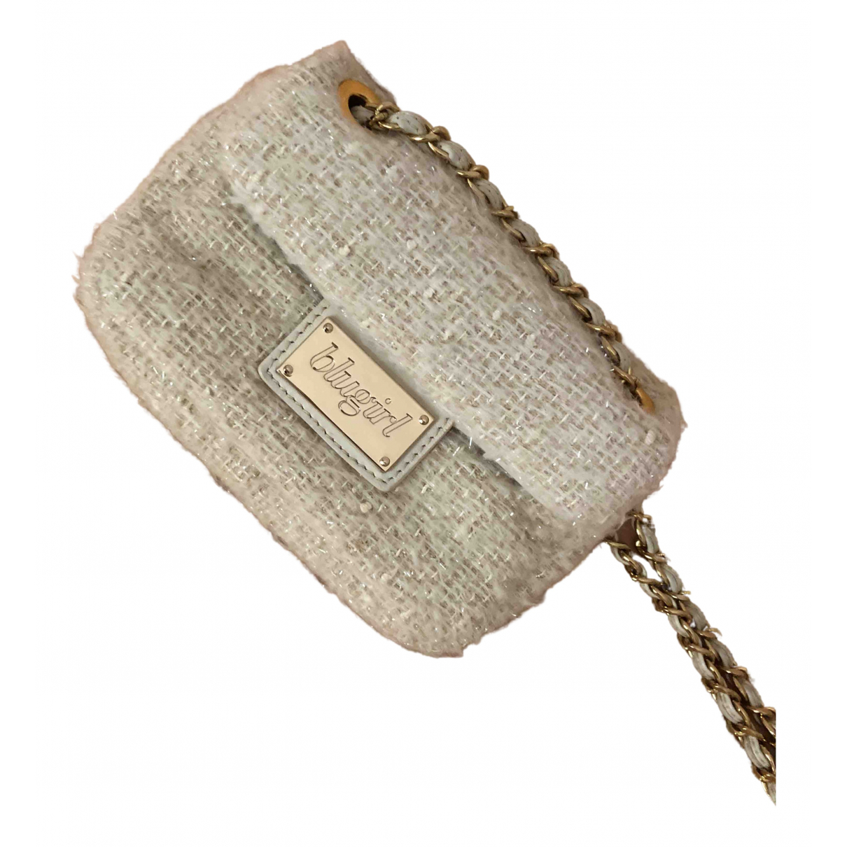 Blumarine N Beige Faux fur handbag for Women N