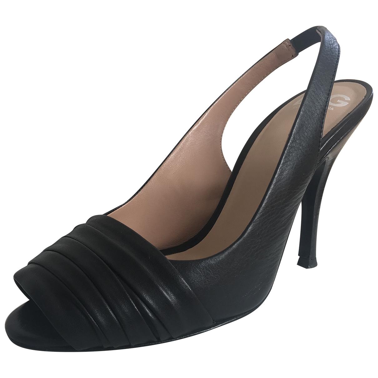 D&g - Escarpins   pour femme en cuir - noir