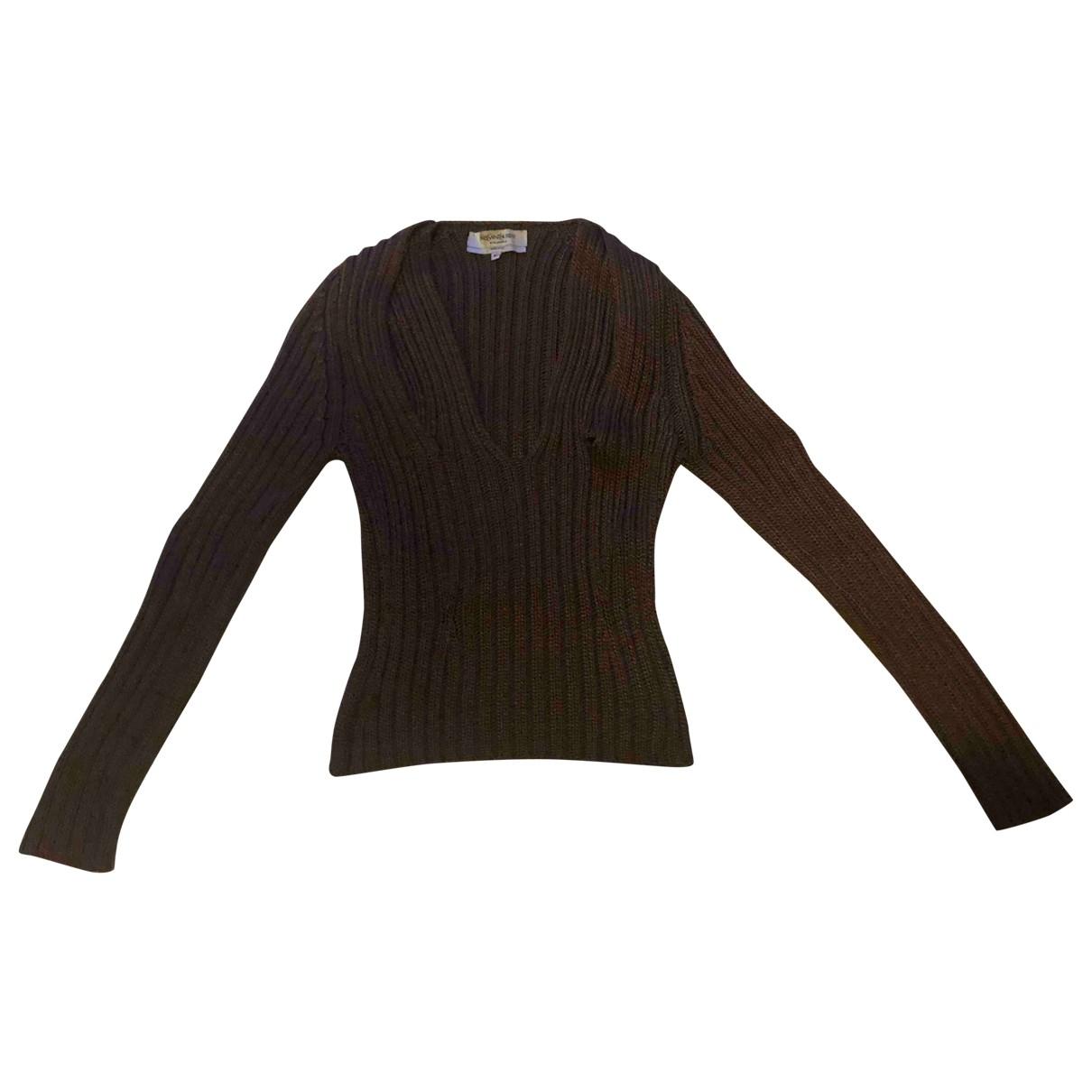 Yves Saint Laurent - Pull   pour femme en soie