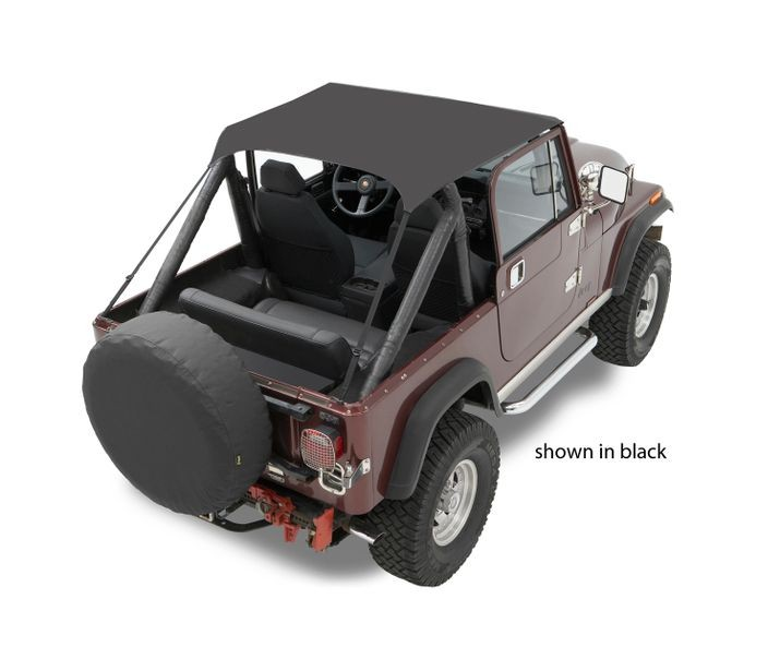 Bestop 52508-04 Tan Traditional Bikini Top Jeep CJ-7 | CJ-8 | Wrangler 1976-1991