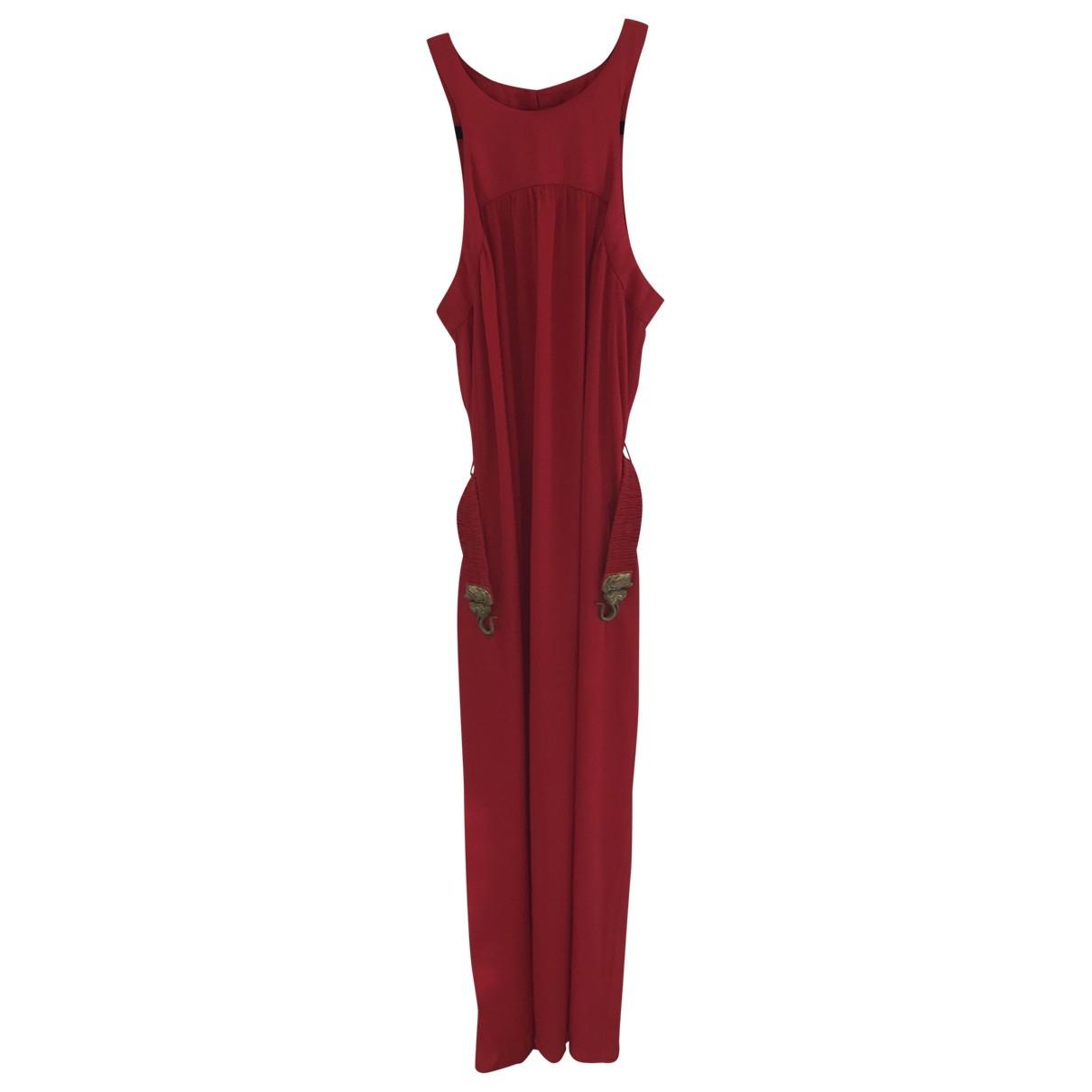 Hoss Intropia \N Kleid in  Rot Seide